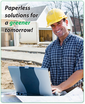 NatPay's paperless solutions are perfect for those in the construction industry