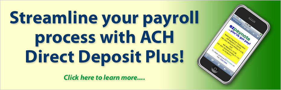 NatPay Direct Deposit Plus ACH solutions